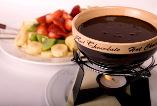 Fondue Cup of Hot Chocolate - Obrázkek zdarma pro Widescreen Desktop PC 1920x1080 Full HD