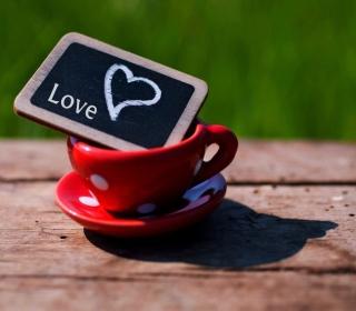 Mug with Heart - Obrázkek zdarma pro iPad 3