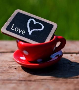 Mug with Heart - Obrázkek zdarma pro iPhone 5
