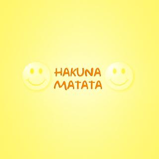 Hakuna Matata - Obrázkek zdarma pro iPad 2