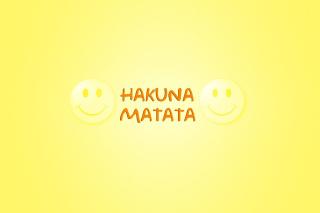 Hakuna Matata - Obrázkek zdarma pro 480x320