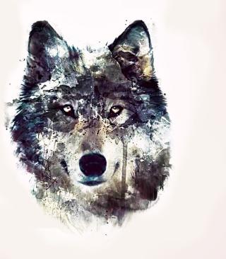Wolf Art - Obrázkek zdarma pro 480x640