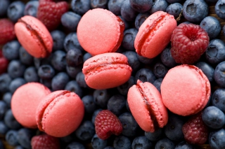 French Macarons Picture for Android, iPhone and iPad