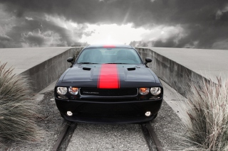 Dodge Challenger Front View - Obrázkek zdarma pro Sony Tablet S