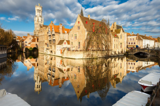 Free Brugge Picture for Android, iPhone and iPad