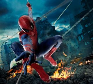 Avengers Spiderman - Obrázkek zdarma pro iPad mini