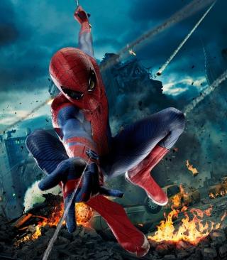 Avengers Spiderman - Obrázkek zdarma pro Nokia Asha 305