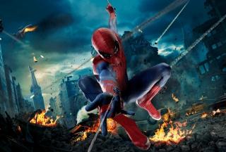 Avengers Spiderman - Obrázkek zdarma pro Motorola DROID