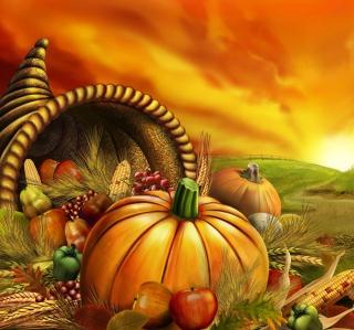 Thanksgiving Pumpkin - Obrázkek zdarma pro iPad mini 2