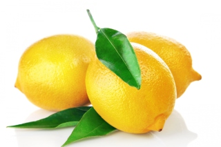 Lemons Close Up Picture for Android, iPhone and iPad