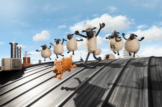 Shaun the Sheep Movie - Obrázkek zdarma pro Samsung Galaxy S6