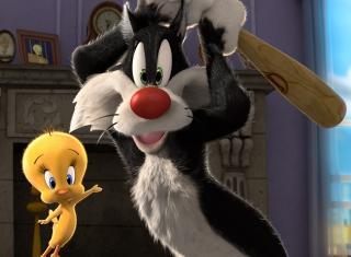 Sylvester And Tweety - Obrázkek zdarma pro 1440x1280
