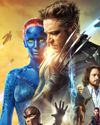 X-Men Days Of Future Past Movie - Obrázkek zdarma pro 640x960