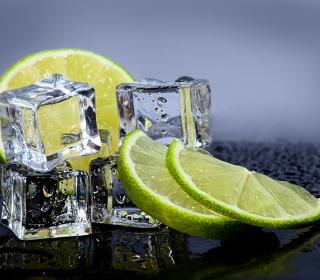 Lime With Ice - Obrázkek zdarma pro iPad mini