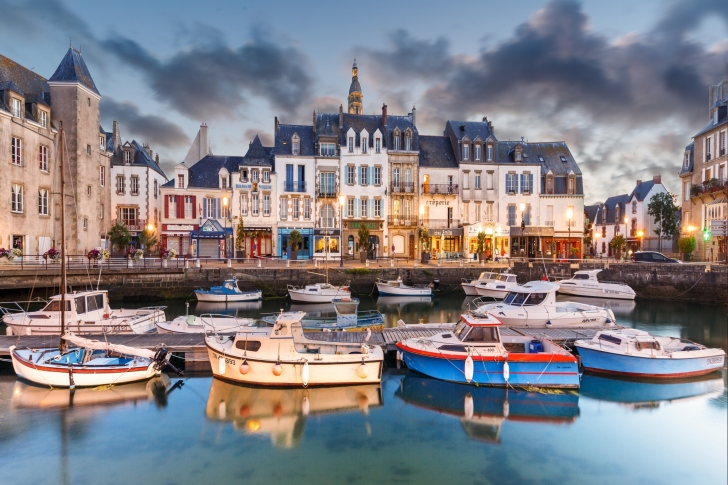 Le Croisic in Brittany France wallpaper