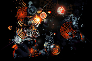 Abstract - Obrázkek zdarma pro 1366x768