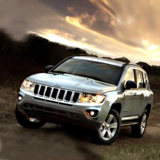 Jeep Compass SUV - Obrázkek zdarma pro iPad