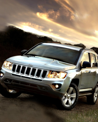 Jeep Compass SUV - Obrázkek zdarma pro 176x220