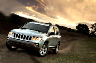 Jeep Compass SUV - Obrázkek zdarma pro Fullscreen Desktop 1600x1200