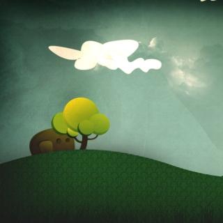 Elephant Hiding Behind Tree - Obrázkek zdarma pro iPad 2
