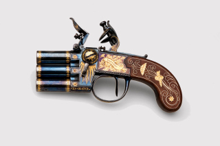 Napoleons Emperor three chamber Pistol Marengo - Obrázkek zdarma pro Nokia Asha 210