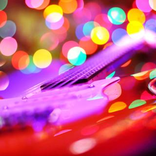 Bokeh Guitar - Obrázkek zdarma pro 1024x1024