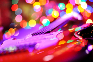 Bokeh Guitar Picture for Huawei M865