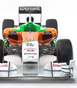 Force India VJM04 - Obrázkek zdarma pro Nokia C1-01