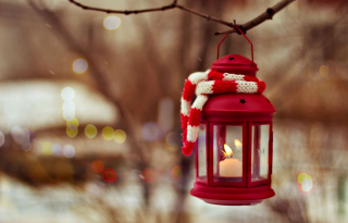 Christmas Lantern Picture for Android, iPhone and iPad