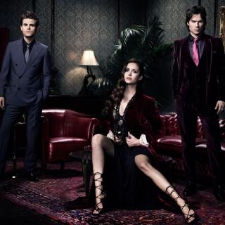 Nina Dobrev in The Vampire Diaries - Obrázkek zdarma pro iPad mini 2