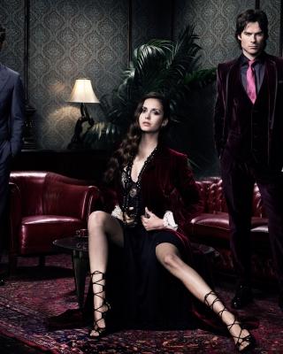 Nina Dobrev in The Vampire Diaries - Obrázkek zdarma pro Nokia Lumia 710