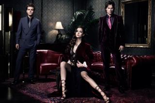 Nina Dobrev in The Vampire Diaries - Obrázkek zdarma pro LG Optimus M