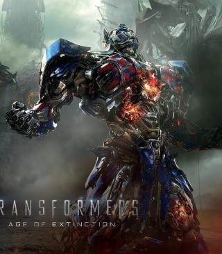Transformers 4 Age Of Extinction 2014 - Obrázkek zdarma pro Nokia X3-02