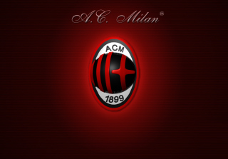 Free AC Milan Logo Picture for Android, iPhone and iPad