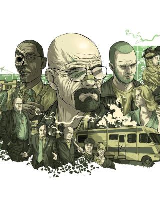 Breaking Bad Poster - Obrázkek zdarma pro Nokia X2-02