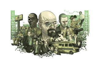Breaking Bad Poster - Obrázkek zdarma pro Android 480x800