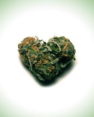 Weed Heart - Obrázkek zdarma pro Nokia C2-00