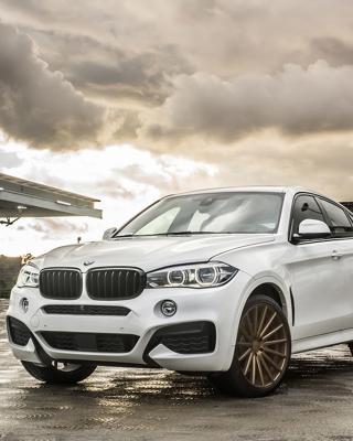 BMW X6 Vossen Wheels VVS CV3 - Obrázkek zdarma pro iPhone 4S
