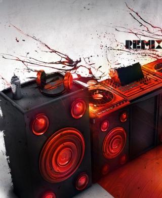 DJ Stuff - Obrázkek zdarma pro iPhone 5C