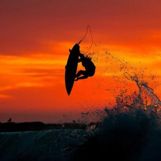 Extreme Surfing - Obrázkek zdarma pro 128x128