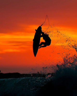 Extreme Surfing - Obrázkek zdarma pro 480x800