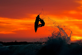 Extreme Surfing - Obrázkek zdarma pro Samsung Galaxy Tab 4 8.0