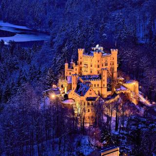 Hohenschwangau Castle - Obrázkek zdarma pro iPad Air