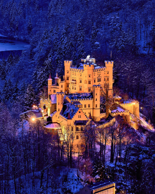 Hohenschwangau Castle - Obrázkek zdarma pro Nokia Asha 309