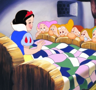 Snow White and the Seven Dwarfs - Obrázkek zdarma pro iPad Air