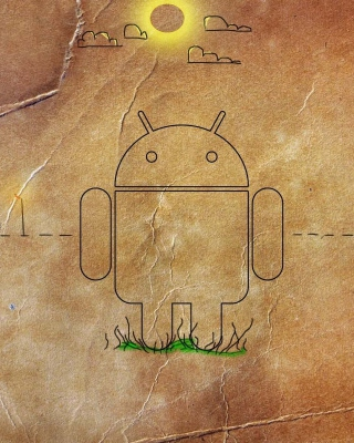 Android HD Logo - Obrázkek zdarma pro 360x400