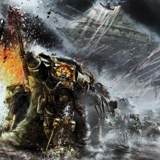 Battle Barg in Horus Heresy War, Warhammer 40K - Obrázkek zdarma pro 320x320