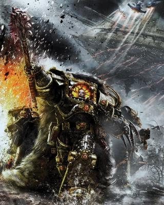Battle Barg in Horus Heresy War, Warhammer 40K - Obrázkek zdarma pro Nokia Lumia 822