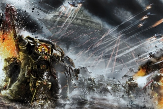Battle Barg in Horus Heresy War, Warhammer 40K - Obrázkek zdarma pro Android 640x480