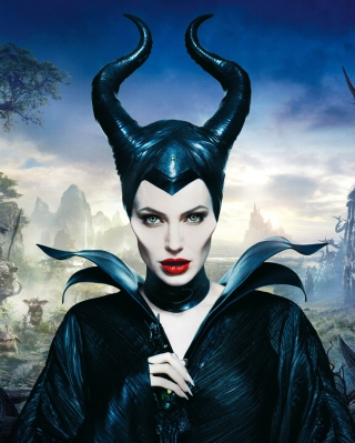 Angelina Jolie In Maleficent - Obrázkek zdarma pro Nokia C1-02